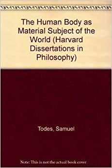 harvard dissertations in philosophy The lists provided here offer a guide to the hundreds of dissertations on topics in medieval studies completed at harvard university during the last two decades.