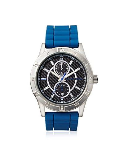 Geoffrey Beene Men's GB8015GUBL Navy/Black Stainless Steel Watch