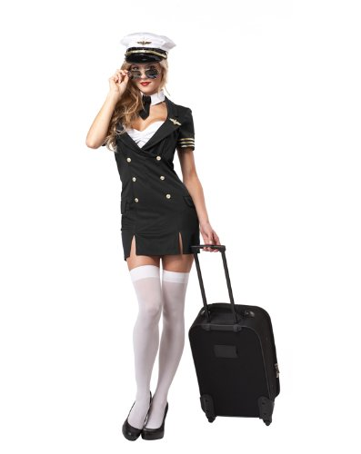 California Costumes Women's Ready For Take Off Pilot Costume