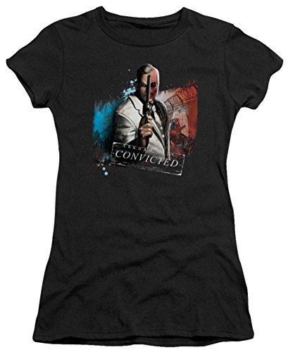Batman Arkham City Two Face Ladies Junior Fit T-Shirt
