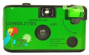 Lomography Lomolitos Single Use Camera with Green Color Flash