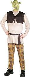 Shrek The Third Shrek Plus Adult Costume - Adult Costumes