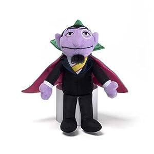 Gund - Sesame Street - Count Von Count Beanbag