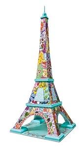 Ravensburger 12567 - Tula Moon Eiffelturm, 3D Puzzle - Bauwerke, 216 Teile