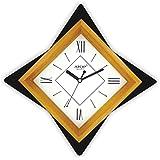 ATOP Analog Wood Wall Clock -(23X23X4.5 Mm, Brown ,AQ-2577 )