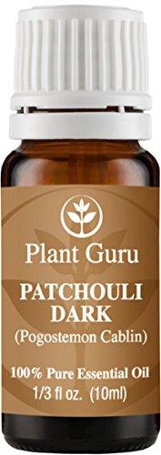 Patchouli Essential Oil (Dark) 10 ml. 100% Pure, Undiluted, Therapeutic Grade. (Pachulli Oil compare prices)