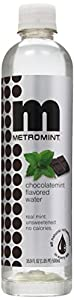 Metromint Water, Chocolatemint, 16.9-Ounce Bottles (Pack of 12)