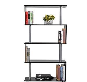... di Design in legno - Mobili Ufficio Scaffale: Amazon.it: Casa e cucina