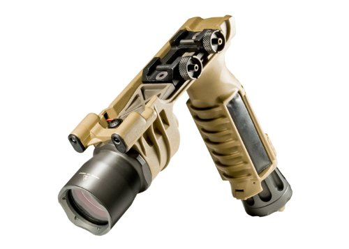 Vertical Foregrip Weaponlight -- Dual Thumbscrew Mount