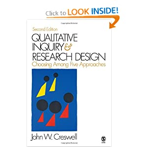 Qualitative Inquiry and Research Design.. Choosing among Five Traditions John W. Creswell
