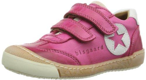 Bisgaard Unisex - Child Schuh mit Klettverschluss Low Pink Pink (14 Pink) Size: 26