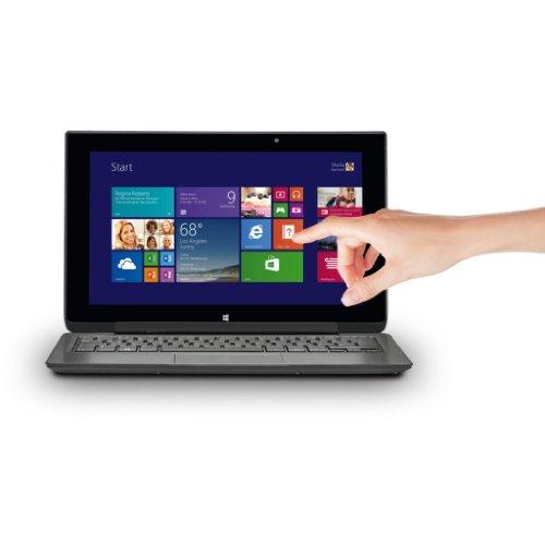 Medion Akoya P2211T (MD 98705) 29,5 cm (11,6 Zoll) Convertible Notebook (Intel Celeron N2920, 1,8GHz, 4GB RAM, 500GB HDD, Intel HD, Win 8) titan