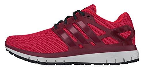 Adidas Energy Cloud Wtc, Scarpe da Corsa Uomo, Rosso (Ray Red/Collegiate Burgundy/Intense Red), 42 2/3 EU