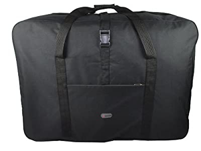 "5 Cities® 36"" Super Lightweight Durable Luggage Holdall (Black)"