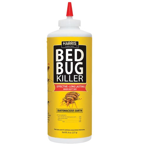 harris bed bug diatomaceous earth powder 8oz new ebay