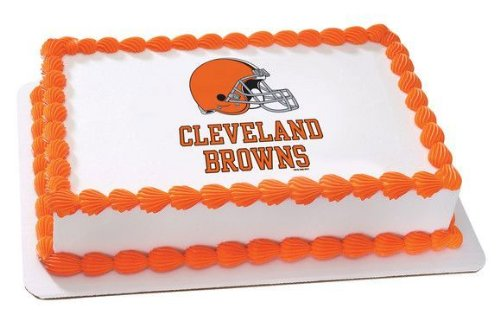 1/4 Sheet ~ NFL Cleveland Browns Football Birthday