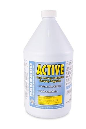 Harvard Chemical 6028 Active Bacterial Organic Matter and Odor Eliminator, Bubblegum Odor, 1 Gallon Bottle, Milky White (Case of 4)