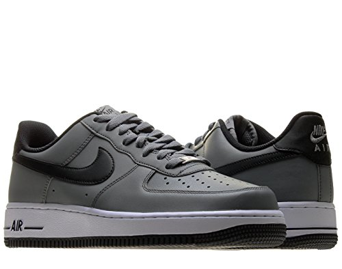 Nike Air Force 1 Mens Basketball Shoes 488298-086 Grey 11 M Us