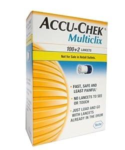 Accu,Chek Multiclix Lancets, 102 Count