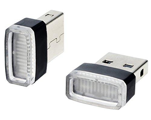 星光産業 USBイルミカバー ブルー EL-168