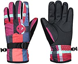 Roxy Jetty Gants Femme Mauna Plaid FR : S (Taille Fabricant : S)