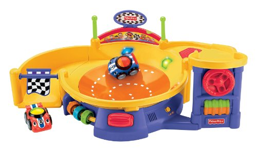Fisher-Price Lil' Zoomers Spinnin' Sounds Speedway front-11859