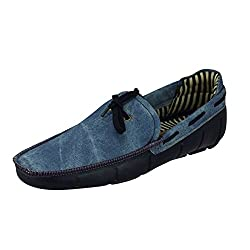 Choice4U Mens Blue Synthetic Loafers - 7 UK