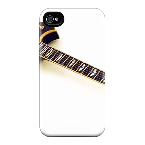 Tpu Case Cover For Iphone 4/4S Strong Protect Case - Yamaha Electric Guitar Design