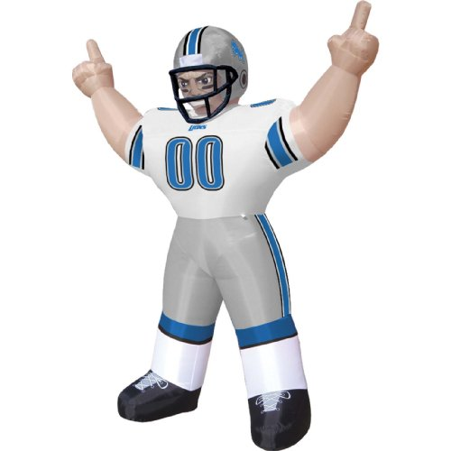 Detroit Lions Tiny Inflatable Lawn Decoration