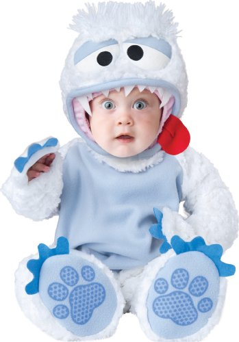 InCharacter Baby's Abominable Snowbaby Costume