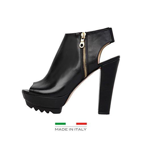 Versace 1969 scarpe sandali Nero VIVIANE, Taglia: 38