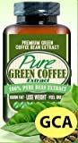 Pure Green Coffee Extract The Weight-Loss Effects Of The Purest Extract From Green Coffee Beans 800mg. (1 Month Supply 60 Capsules)
