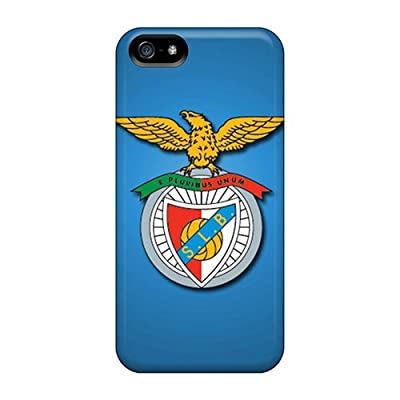 Iphone 5/5s Sl Benfica Print High Quality Tpu Gel Frame Case Cover