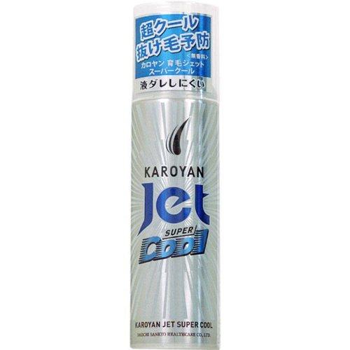 カロヤン薬用育毛ジェット無香料EXクール 185g