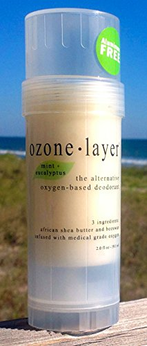 Ozone Layer Deodorant With Eucalyptus + Mint Fragrance - The All Natural Oxygen Based Deodorant