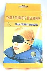 Three Tourists Treasures - Travel pillow set