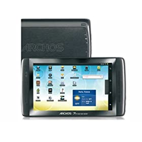 Archos 70 Internet Tablet 8Gb 7 Capacitive, Multitouch Screen, Android 2.2, 1Ghz + 3D Open Gl