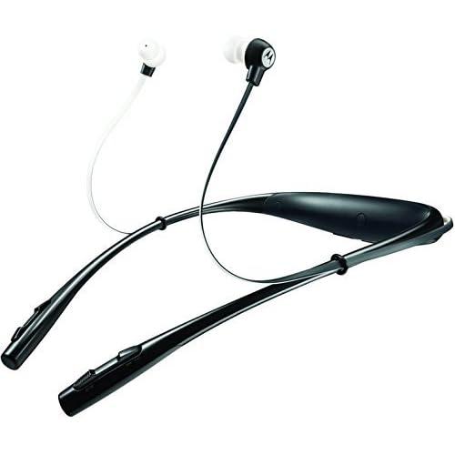 Motorola Buds Universal Bluetooth Stereo Headset - Retail Packaging - Black