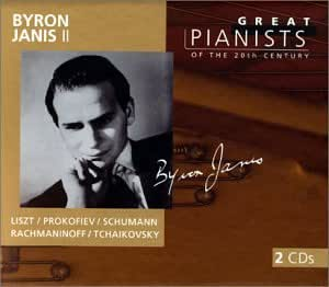 Byron Janis II: Great Pianists Of the 20th Century, Vol. 51