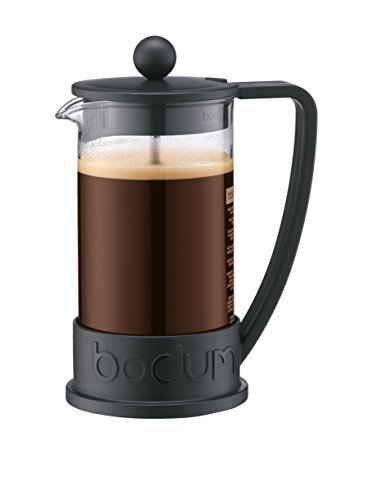 Bodum-Brazil-French-Press-1-Liter-8-Cup-Coffee-Maker-34-Ounce-Black