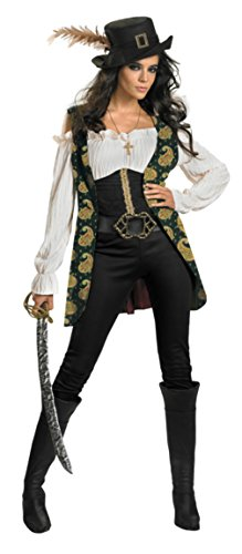 Disguise Womens Disney Pirates Of The Caribbean Angelica Deluxe Fancy Costume