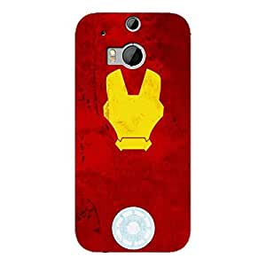 EYP Superheroes Ironman Back Cover Case for HTC One M8