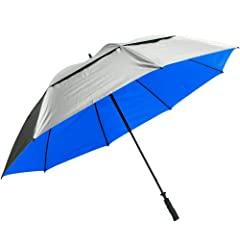 Buy ProActive Sports SunTek Umbrella, 68-Inch, Silver Blue by Pro Active