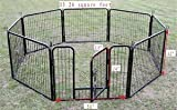 "32"" Heavy Duty Pet Playpen Dog Exercise Pen Cat Fence B"
