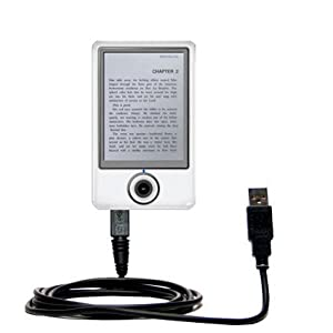 Hot Sync and Charge Straight USB cable for the Onyx Boox60 - Charge and Data Sync with the same cable. Built with Gomadic TipExchange Technology from Electronic-Readers.com
