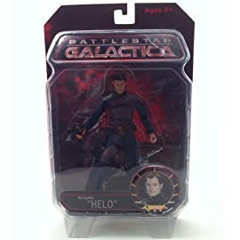Helo Battlestar Galactica Karl Agathon Series 1 Exclusive Action Figure
