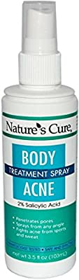 Nature's Cure Body Acne Treatment Spray 3.5 oz