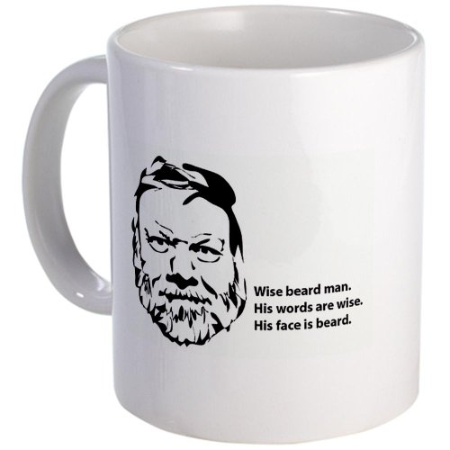 Wise Beard Man Mug Mug By Cafepress
