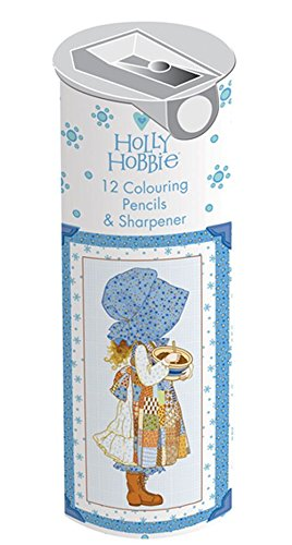 holly-hobbie-12-colouring-pencils-sharpener-cylindrical-tin