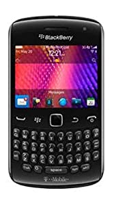 Blackberry Curve 9360 Mobile Phone on T-Mobile / Pay As You Go / Pre-Pay / PAYG - Black
